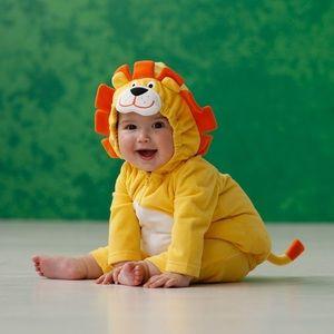 Carter's 🦁 Yellow Lion Halloween Costume
